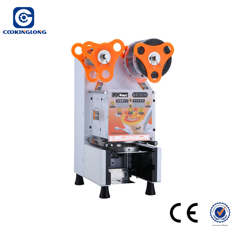 cup sealer 95mm 90mm 75mm automatic Plastic cup sealing machine