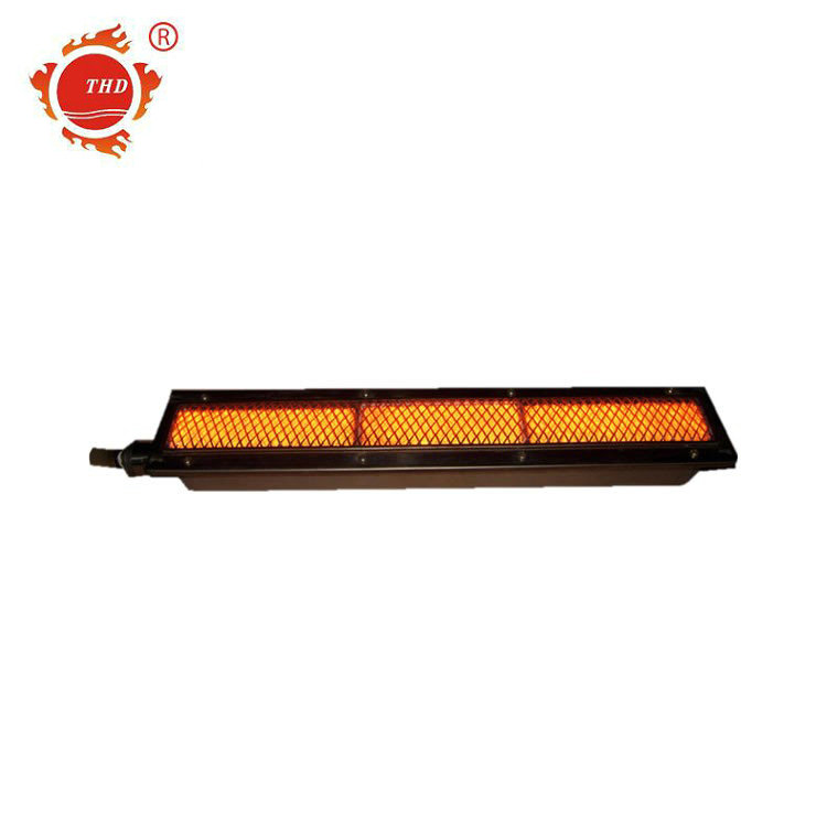 9030 btu/hour Infrared aluminum gas burner for barbecue machine