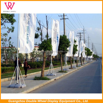 Beach Flagpole Flying Banners, Garden Flag Stand, Metal Flag Pole