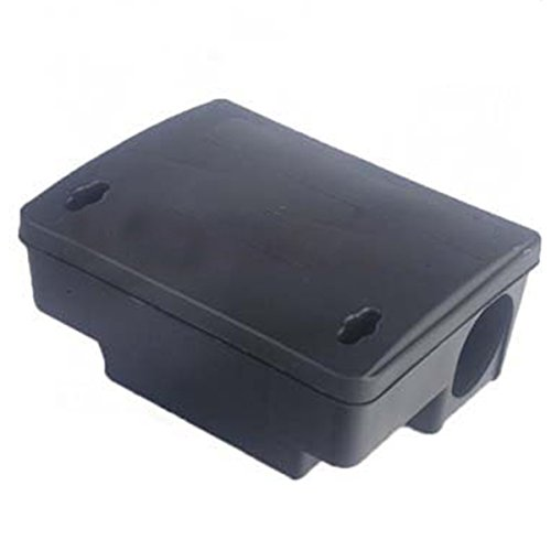 TOOGOO(R) Professional Rodent Bait Block Station Box Case Trap & Key For Rat Mouse Mice