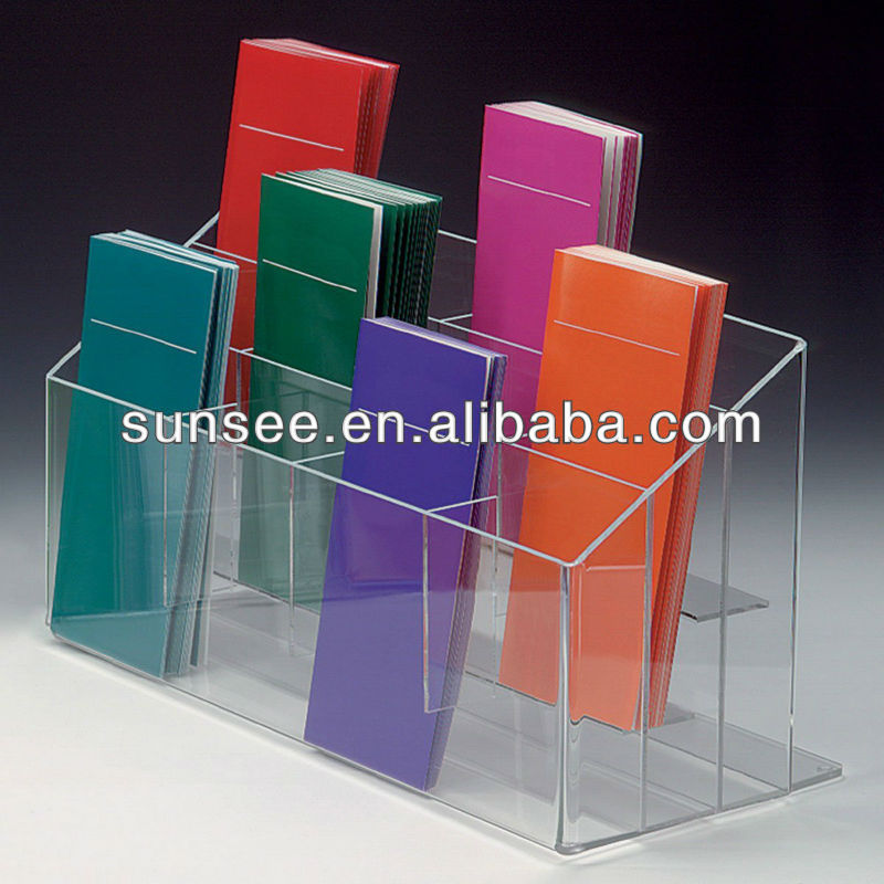 acrylic sign holder 5x7, elegant Acrylic display holder, BHP-004