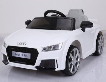 Lisenced Audi Tt Rs Ride On Toys With Remote Control Baby Electric Car Kids Battery