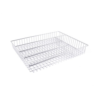 Cutlery Holder in Silver color Kitchen tools baskets knives forks spoons chopsticks collecting basket