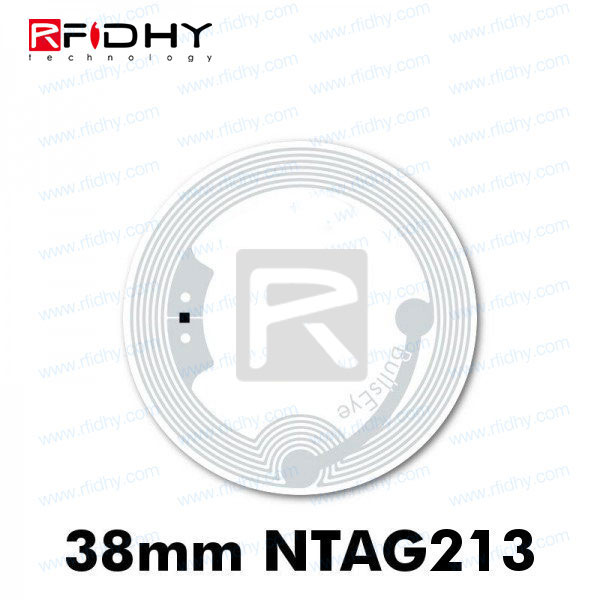 Factory Price RFIDHY Passive RFID Tag 30mm Round NFC 13.56mhz RFID sticker