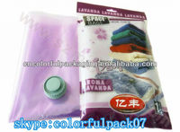 clothing packaging bag/custom made plastic bags/promotional in apparel