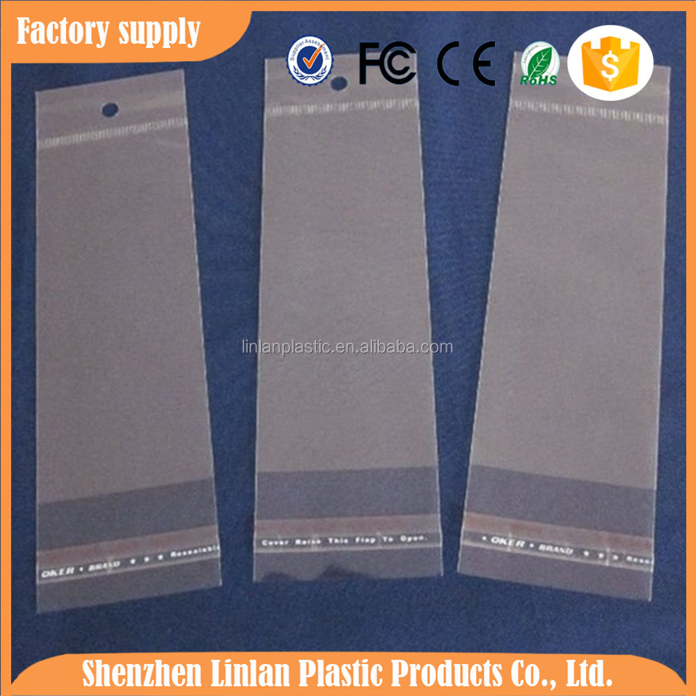 clear opp header bags for iphone case packaging made in Guangdong factory
