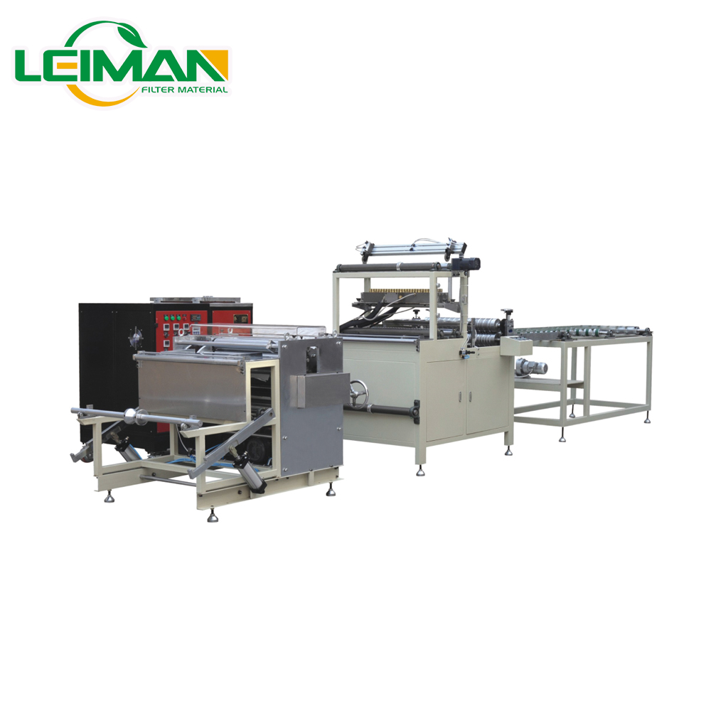 PLWG-700 Auto HEPA Filter Mini Paper Pleating Production Line