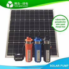 120W 240W Solar Water Pump Submersible Deep Well Pumps For Garden Irrigation Dual-Use Brushless high-speed