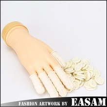 Disposable Finger Cots Latex Rubber Fingertips Protective Gloves Nail Art