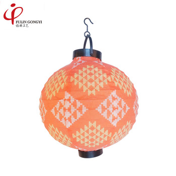 Chinese Waterproof Round Battery Operated Led Light Paper Lanterns