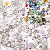 Free Sample Top Quality strass flatback rhinestone non hot fix rhinestone manufacturer for Nail Art rhinestone DIY Decoration