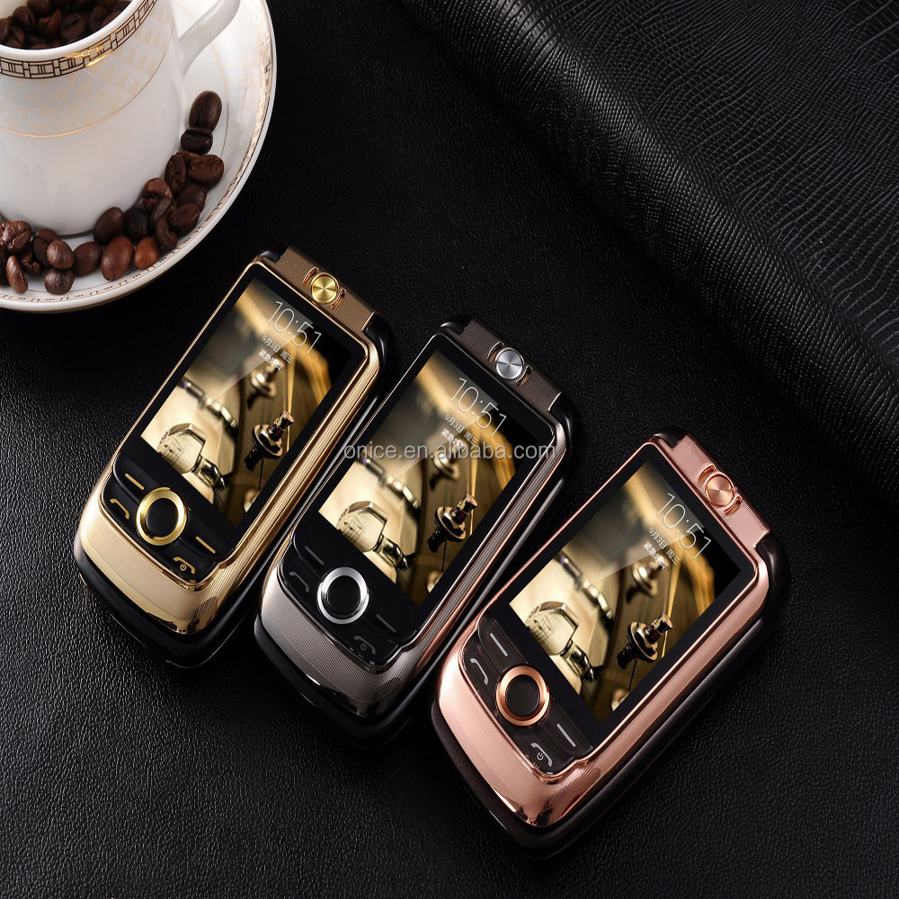 2.6 inch V998 very low price mobile phone big button flip open mobile phones 2000mah vibration FM