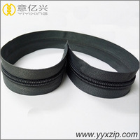 polyester zipper factory /custom nylon coil zips for furniture and interior/ furniture and interior coil zip roll