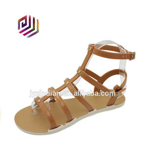 Womens Lace Up Lady Sandals Ladies Shoes Low Heels Size