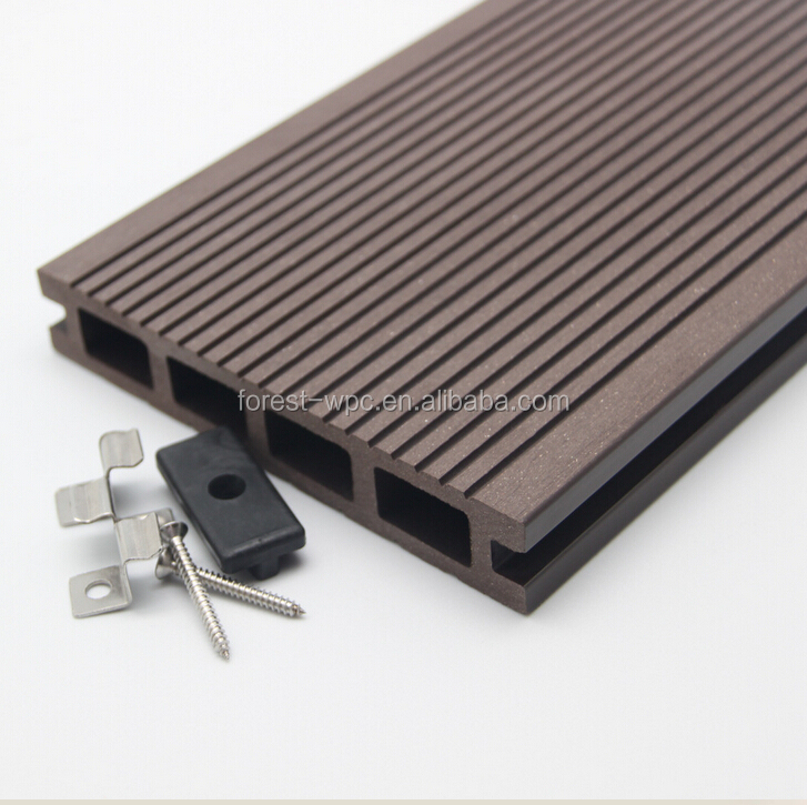 145x25x2900mm frstech wpc decking mahogany lumber factory with floor machine bangkirai reeded decking