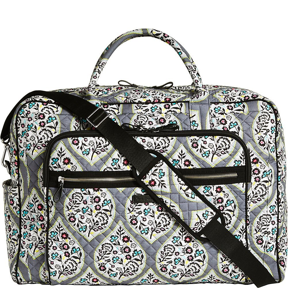 2648492fbe Get Quotations · Vera Bradley Iconic Grand Weekender Travel Bag