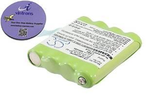 vintrons (TM) Bundle - 600mAh Replacement Battery For UNIDEN GMR1038, GMR2889-2CK, + vintrons Coaster