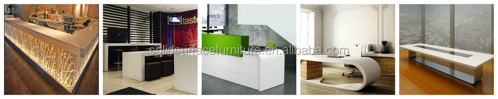 tell world produce restaurant furniture fast food counter design high end modern fast - L Shape Restaurant 2015