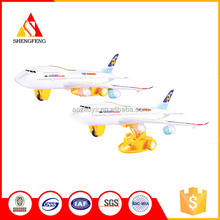 Baby toys electronic flash airlines plane toys