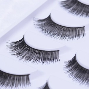 Best lovely false lashes private label soft silk false eyelashes