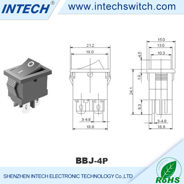 3A 6A 15A 250V kcd4 rocker switch kcd4 rocker switch, kcd4 rocker switch suppliers and manufacturers  at metegol.co