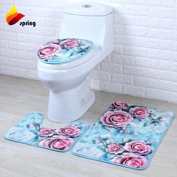 Bathroom Mat Set 3 Piece Bath Rug Sets