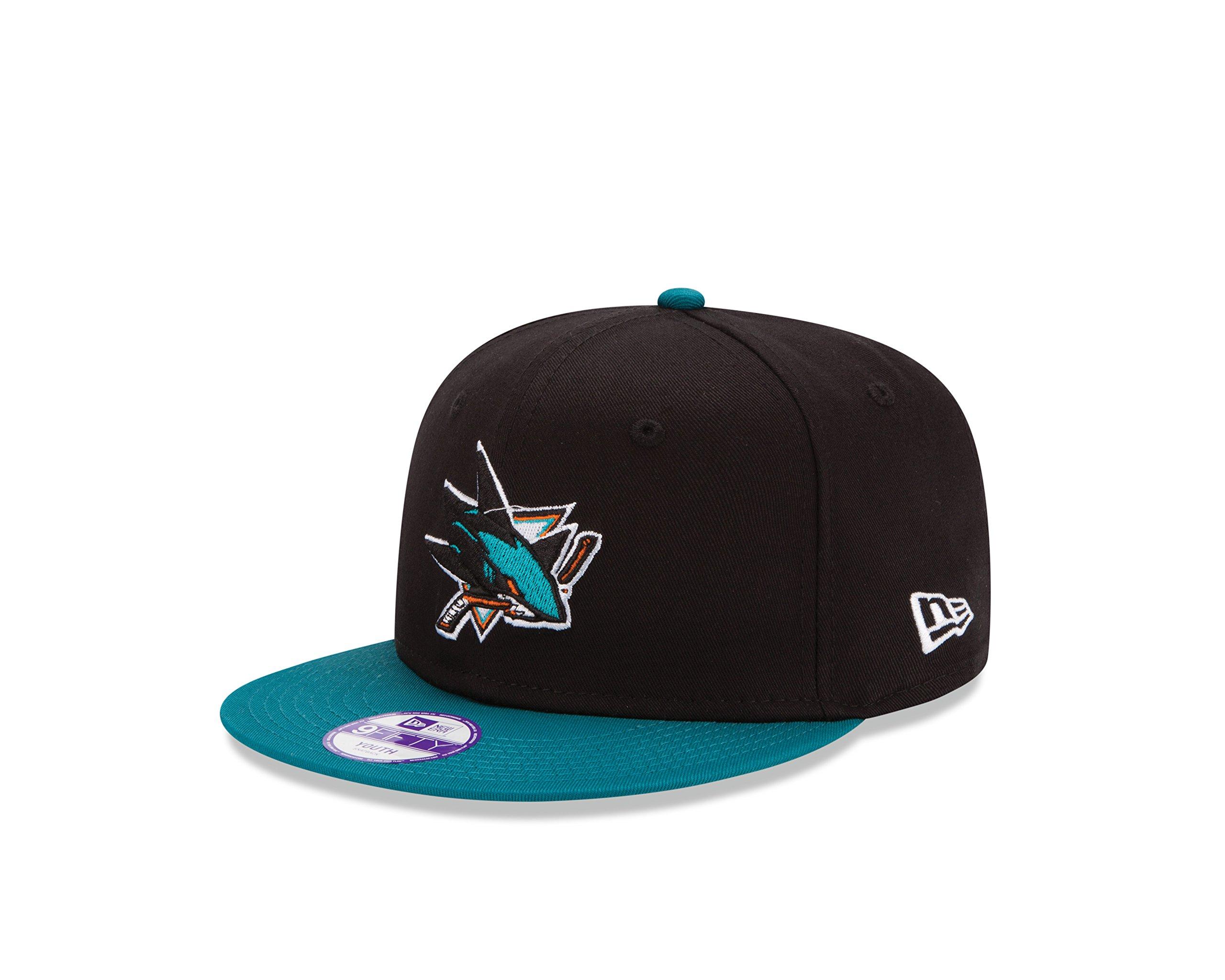 sneakers for cheap 1c6a6 0b988 Get Quotations · NHL San Jose Sharkes Kids 2Tone 9FIFTY Snapback Cap, Black