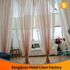 Plain Color Voile Curtain for Home Window/ Hotel window/decoration/office/cafe/wedding/