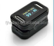 Handheld blood pressure monitor with pulse oximeter
