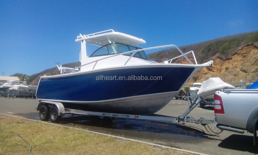 21ft aluminum fishing boat with hardtop