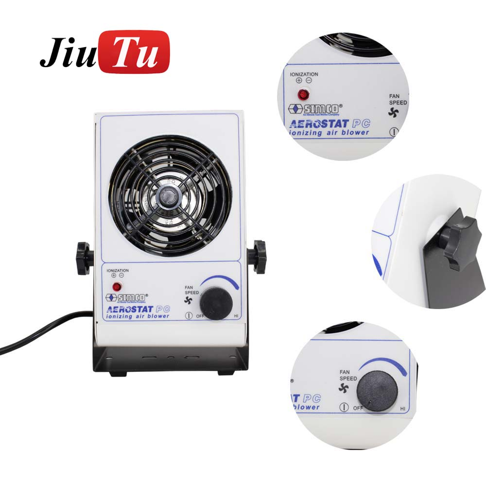 <strong>220</strong> <strong>v</strong>/110v Mini Electric Air Blower Anti-static Fan for Mobile Phone LCD Repair Cleaning Room Dust-Free Workbench