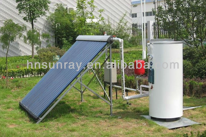 High efficient and convenient seperate pressure solar water heaters