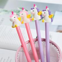 Cute Kawaii Cartoon characters Shape Gel Ink Pens school office supplies  novelty pens for kids stationary