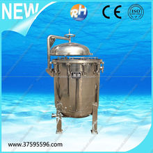 China Professional Manufacturer , Cheap, High Flow ,High Quality ,Stainless Steel Multi Bag Filter Housing
