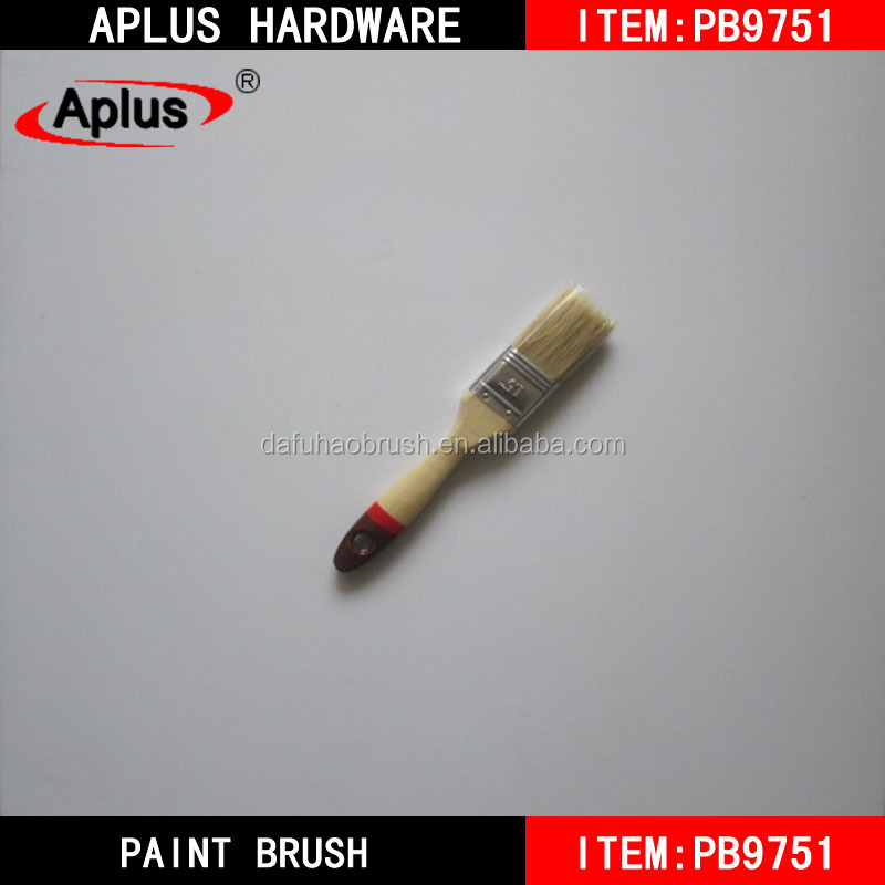 Wholesale wall painting tools soft bristles bulk cheap paint brushes