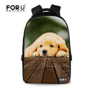 a733240ed82d FOR U DESIGN Pets   Animals Dog Backpack Animal School Bag Pack with Custom  Printing