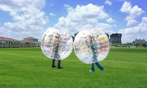 PVC/TPU inflatable ball suit /loopy ball/bumper ball for sale