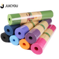eco friendly custom print non slip tpe yoga mat