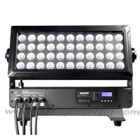 professional waterproof LED 44*10w RGBW 4in1 super brightness city color stage light