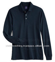 LONG SLEEVE MEN'S POLO T-SHIRT