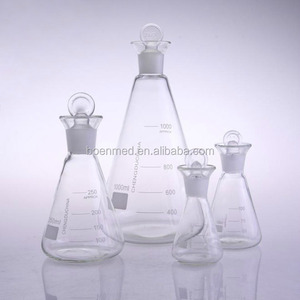 Laboratory Glass Conical Flasks (Iodine flask)