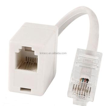 Accet018 Ethernet Rj45 8p8c мужчин и Rj11 6p4c женский F M адаптер конвертер кабель Buy Rj45 к Rj11 адаптер Rj45 Rj11 адаптер Rj45 к Rj11 Cabble