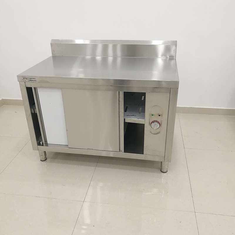 Restaurant Catering Electric Stainless Steel Warm Dish Cabinet