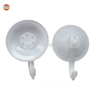 Plastic hook suction cups with clip