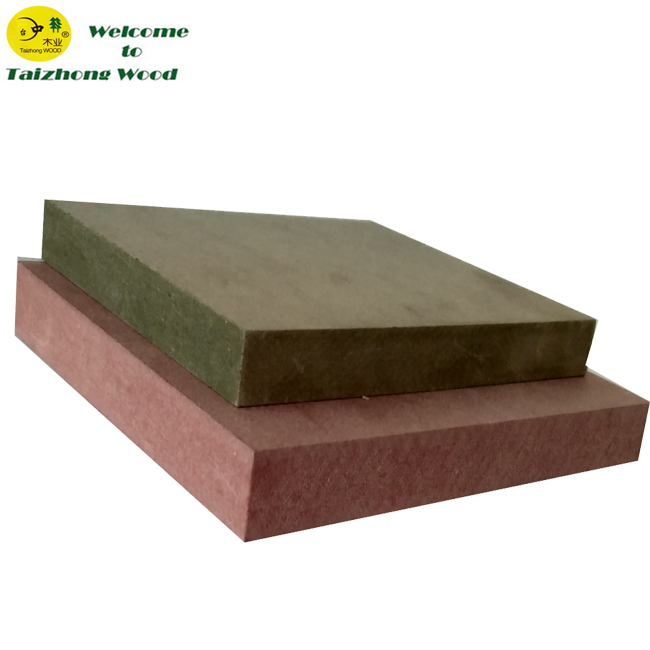 Green Color Moistureproof <strong>MDF</strong>