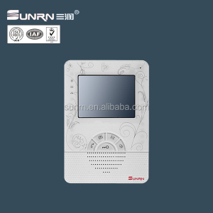 Building security home video door phone similar to commax intercom