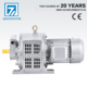 YCT132-4B series three phase adjustable speed control electric motor 40hp