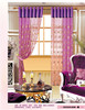 China supplier 35mm curtain rod tulle window curtains and swags