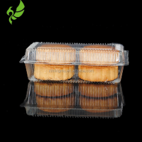 Custom design plastic clamshell mooncake packaging tray for wholesale