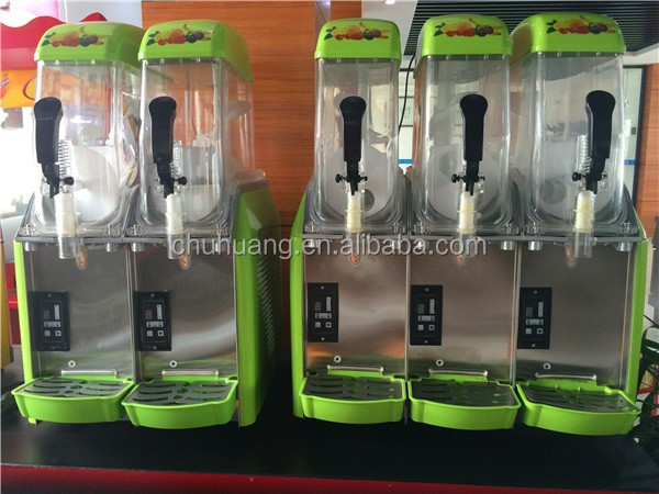 3 Tanks Big Capacity High Efficiency CE Approved Nice Design Slush Machine/commercial slush puppy machines for sale